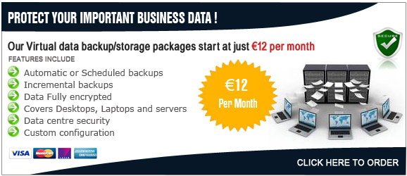 Data Backup Packages