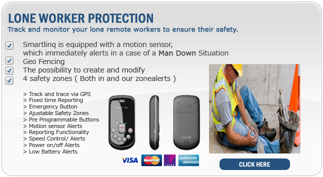 Lone worker tracking system