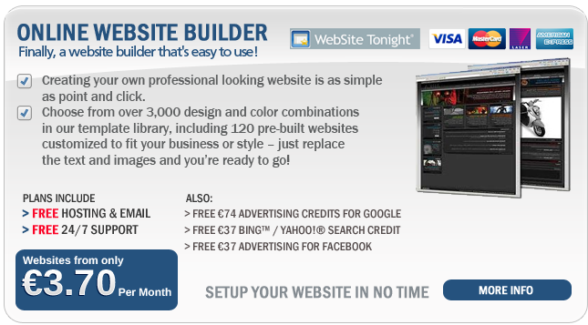 Online website packs