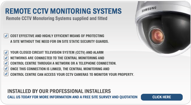 Remote CCTV Monitoring Systems