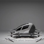 EHANG184, The World's first Autonomous Aerial Vehicle