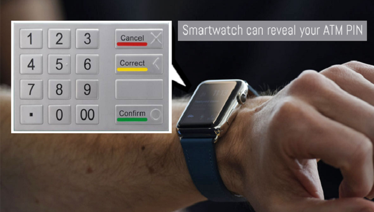 smartwatch can reveal atm pin