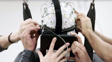 Non-Invasive Brain-Machine Interface controls Exoskeleton with the Power of 'Thought'