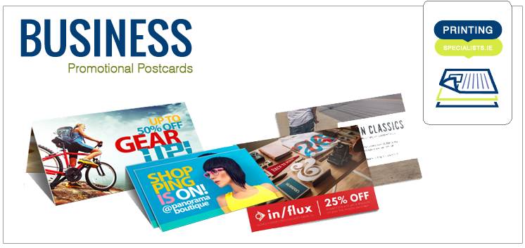 Business Promotional Postcards