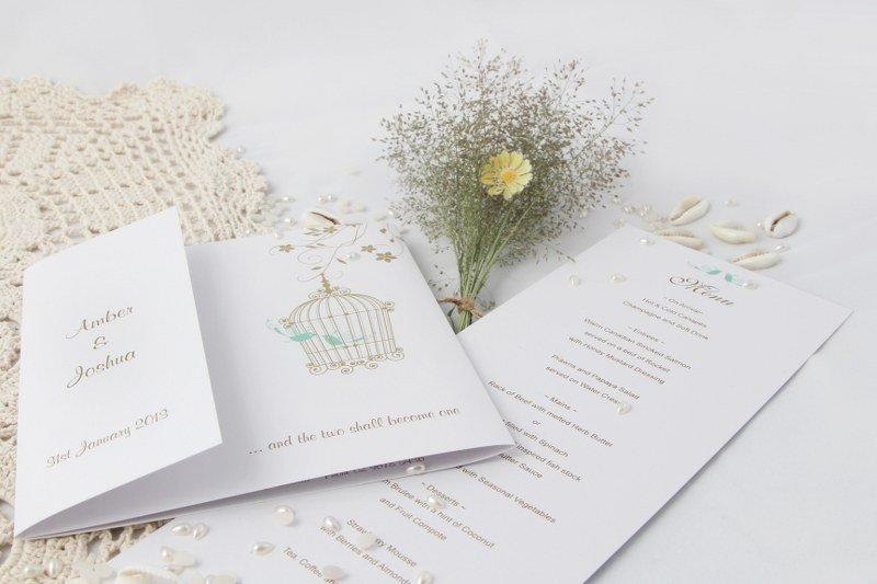 Designer Wedding Stationery