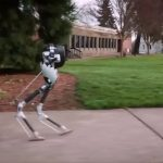 "Two-legged Robot ""Cassie"" demonstrates complex locomotion"