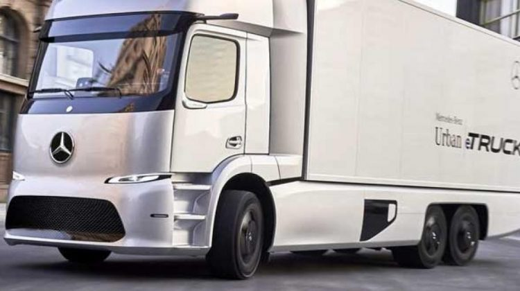 Mercedes rolls out its Electric eTruck in Germany