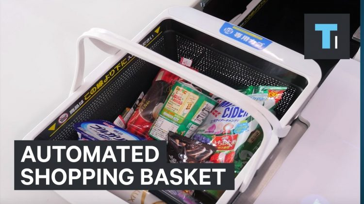 This Automatic Shopping Basket could Revolutionize the way you Buy Groceries
