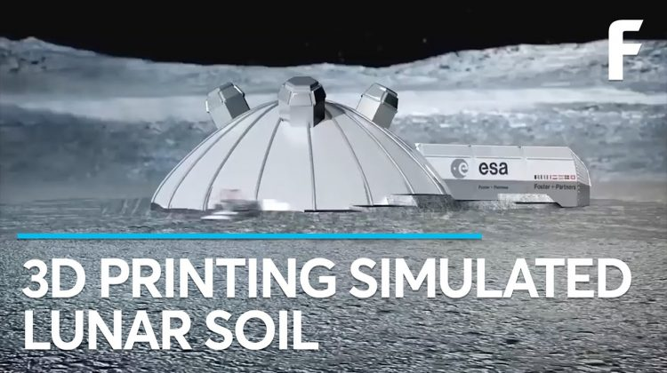 Researchers are Printing Bricks using Simulated Moon Dust