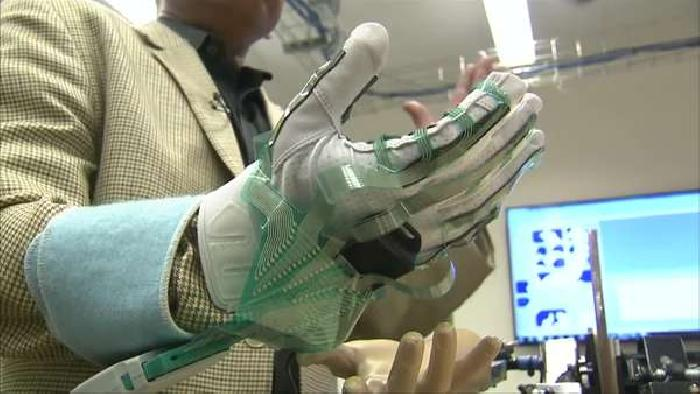 Smart Glove could help measure Muscle Stiffness