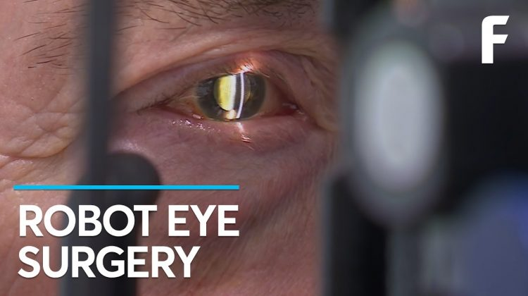 A Robot Just Performed the First-Ever Surgery Inside the Human Eye